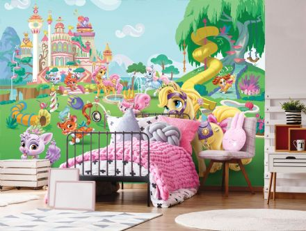 Wallpaper wall mural Disney Palace Pets